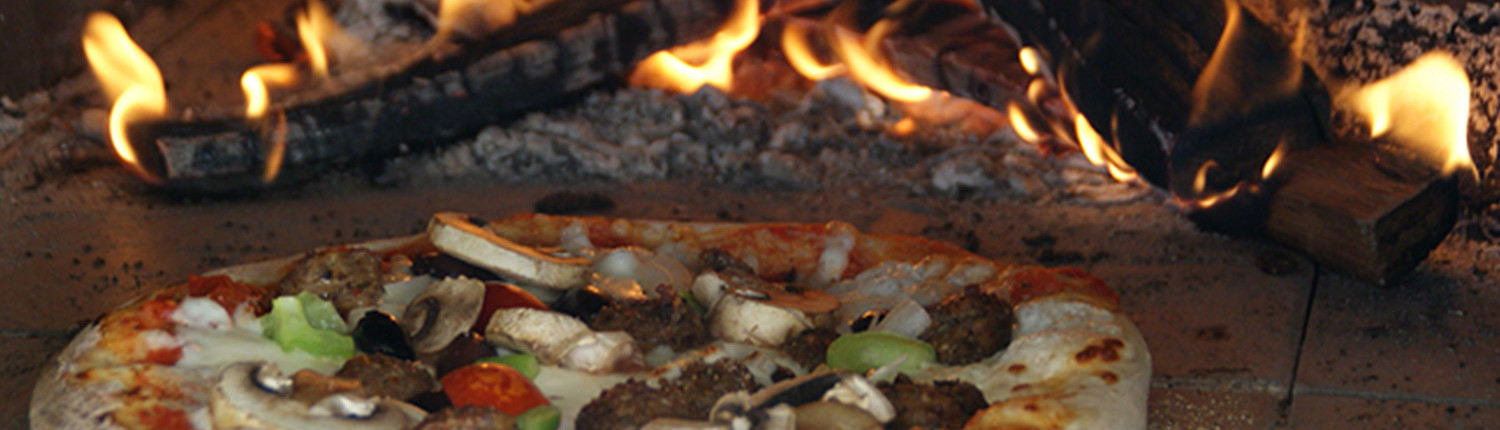 Classic wood fired pizza - on-site pizza catering