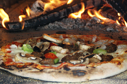 Classic wood-fired pizza